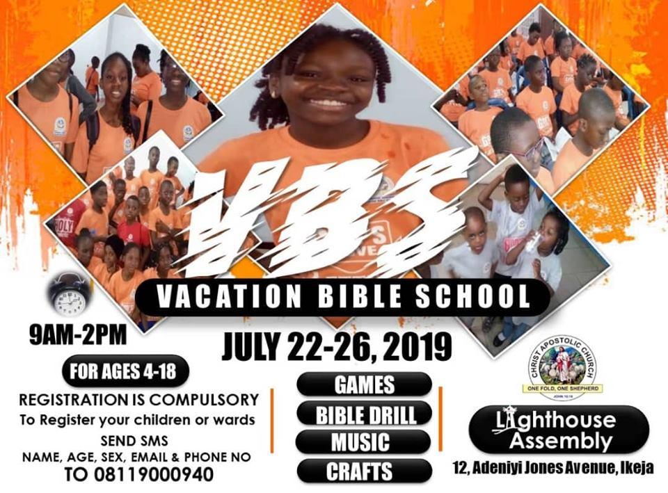 CAC LIGHTHOUSE ASSEMBLY 12 Adeniyi Jones Ave, off Oba Akran Road, Ikeja, Lagos
